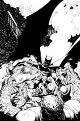 Omslag - Batman In The Court Of Owls An Adult Coloring Book