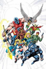 Omslag - JSA By Geoff Johns Book One