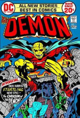 Omslag - The Demon by Jack Kirby