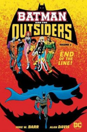 Batman and the Outsiders Volume 3 av Mike Barr og Alan Davis (Innbundet)