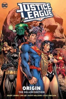 Justice League: Origin Deluxe Edition av Geoff Johns og Jim Lee (Innbundet)