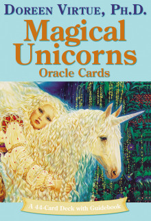 Magical Unicorns Oracle Cards av Doreen Virtue (Undervisningskort)