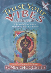 The Trust Your Vibes Oracle Deck av Sonia Choquette (Undervisningskort)
