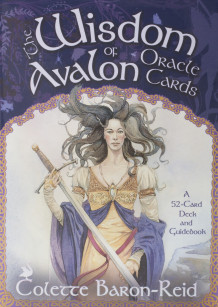 Wisdom Of Avalon Oracle Cards av Colette Baron-Reid (Undervisningskort)