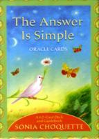 The Answer is Simple Oracle Cards av Sonia Choquette (Undervisningskort)