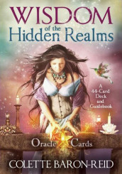 Wisdom of the Hidden Realms Oracle Cards av Colette Baron-Reid (Undervisningskort)