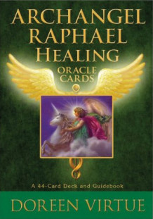 Archangel Raphael Healing Oracle Cards av Doreen Virtue (Undervisningskort)