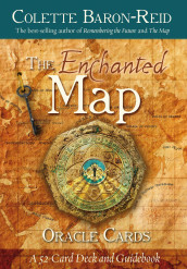 The Enchanted Map Oracle Cards av Colette Baron-Reid (Undervisningskort)