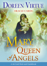 Omslag - Mary, Queen of Angels Oracle Cards