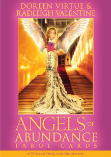 Angels of Abundance Oracle Cards av Doreen Virtue og Grant Virtue (Undervisningskort)