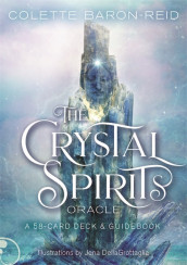 The Crystal Spirits Oracle av Colette Baron-Reid (Undervisningskort)