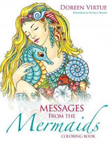 Omslag - Messages from the Mermaids Coloring Book