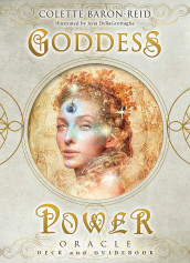 Goddess Power Oracle (Deluxe Keepsake Edition) av Colette Baron-Reid (Undervisningskort)
