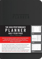 High Performance Planner Half-Year Pack av Brendon Burchard (Heftet)