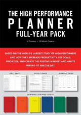 Omslag - High Performance Planner Full-Year Pack