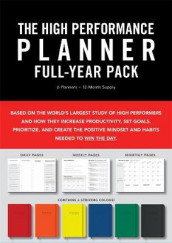 High Performance Planner Full-Year Pack av Brendon Burchard (Heftet)