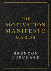 The Motivation Manifesto Cards av Brendon Burchard (Undervisningskort)