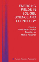 Omslag - Emerging Fields in Sol-Gel Science and Technology