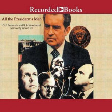 All the President's Men av Bob Woodward og Carl Bernstein (Lydbok-CD)