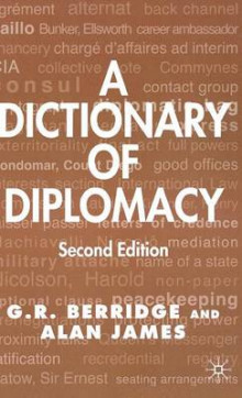 A Dictionary of Diplomacy 2003 av G. R. Berridge og Alan James (Innbundet)