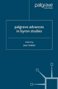 Palgrave Advances in Byron Studies av Jane Stabler (Heftet)