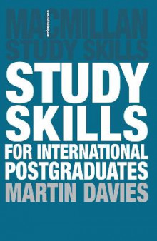 Study Skills for International Postgraduates av Martin Davies (Heftet)