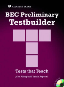BEC Preliminary Testbuilder with Answer Key and Audio CDs B1+ Intermediate av Jake Allsop (Blandet mediaprodukt)