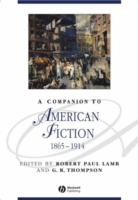 A Companion to American Fiction 1865-1914 (Innbundet)