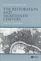 A Concise Companion to the Restoration and the Eighteenth Century (Heftet)