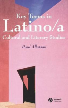 Key Terms in Latino/a Cultural and Literary Studies av Paul Allatson (Innbundet)