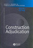Construction Adjudication av John Riches og Christopher Dancaster (Innbundet)