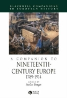 A Companion to Nineteenth-Century Europe 1789 - 1914 (Innbundet)
