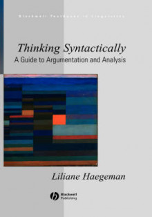Thinking Syntactically av Liliane Haegeman (Innbundet)