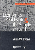 Economics, Real Estate and the Supply of Land av Alan W. Evans (Heftet)