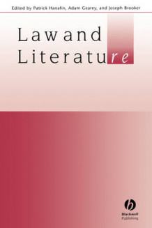 Law and Literature av Editor:Patrick Hanafin, Editor:Adam Gearey og Edit Brooker (Heftet)