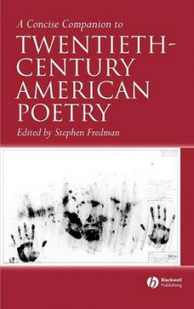 A Concise Companion to Twentieth-Century American Poetry (Innbundet)