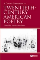 A Concise Companion to Twentieth-Century American Poetry (Heftet)
