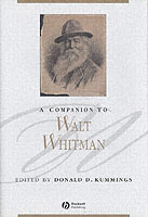 A Companion to Walt Whitman (Innbundet)