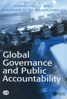 Global Governance and Public Accountability (Heftet)