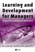 Learning and Development for Managers av Eugene Sadler-Smith (Heftet)