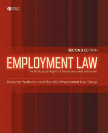 Employment Law av Benjamin W. Wolkinson og The Msu Employment Law Group (Heftet)