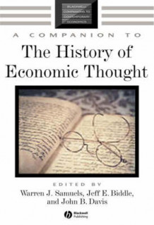 A Companion to the History of Economic Thought (Heftet)