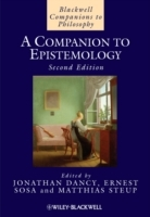 A Companion to Epistemology (Innbundet)