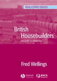 British Housebuilders av Fred Wellings (Heftet)