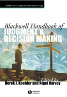 Blackwell Handbook of Judgment and Decision Making (Heftet)