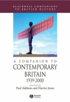 A Companion to Contemporary Britain (Heftet)