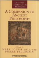 A Companion to Ancient Philosophy (Heftet)