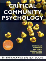 Omslag - Critical Community Psychology
