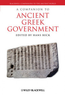 A Companion to Ancient Greek Government (Innbundet)