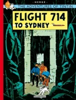 Flight 714 to Sydney av Herge (Heftet)
